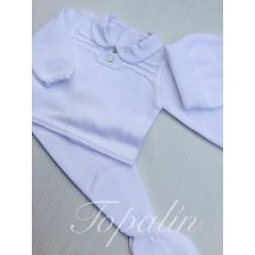 3 a 12m conjunto jersey y pantalón punto